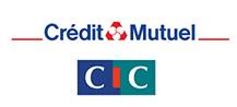 Référence LuxorGroup - Logo Credit Mutuel CIC